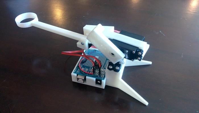 Robotic Ping-Pong Ball Launcher