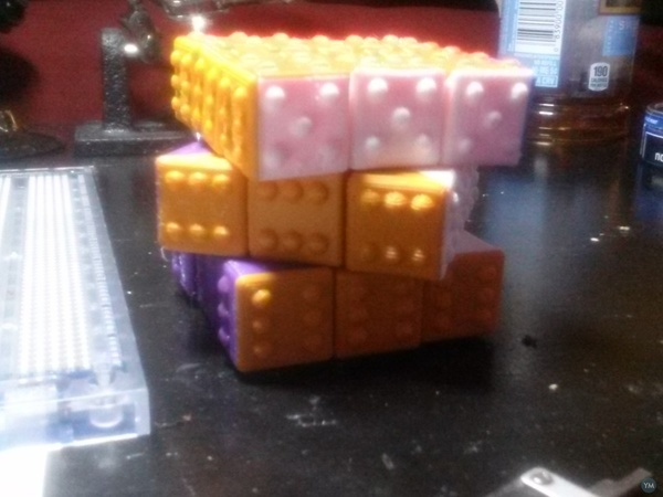 3x3x3 Fully Functional Cube