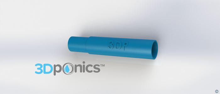 Support Rod (Round) - 3Dponics Drip Hydroponics