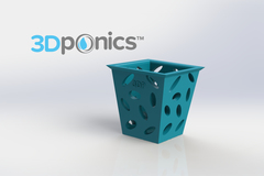 3 Dponics Square Planter 11