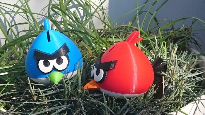 Angry Bird - Red - Bank