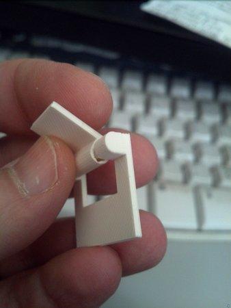 Parametric Print in Place hinge