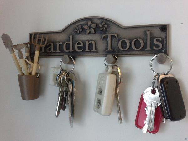 Gardeners Key Holder