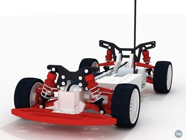 OpenRC 1:10 4WD Touring Concept RC Car