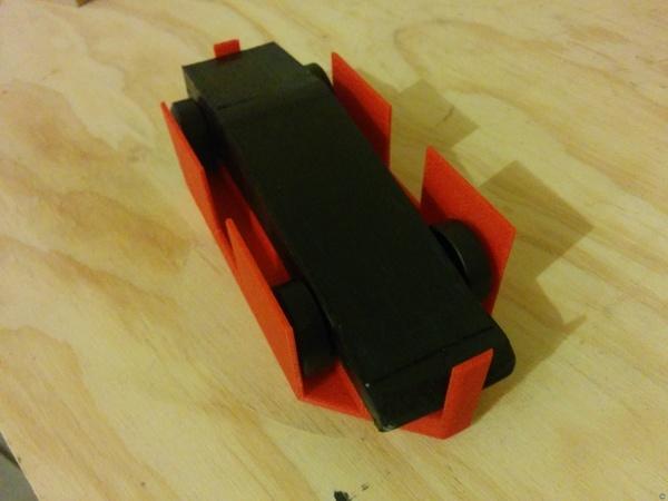 Pinewood Derby Measurement Box