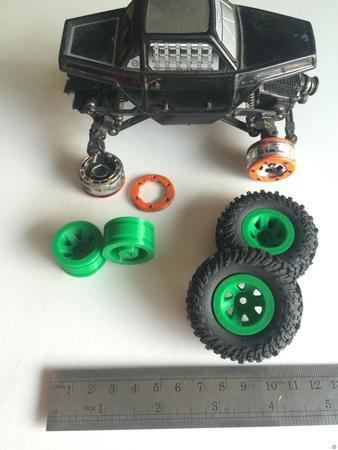 Mini RC Crawler Wheels