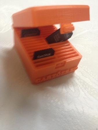 Porta Cartões SD / Box SD