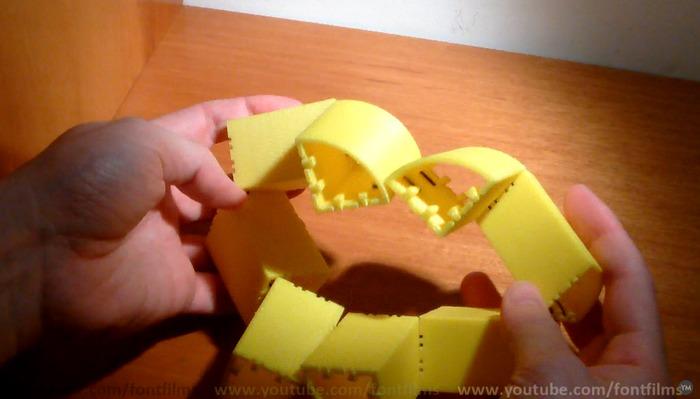 Crazy 3D printed Cylinder