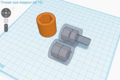 Thread Size Adaptor