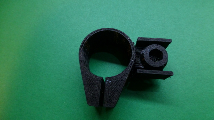 Garmin VIRB bar mount-Parametric
