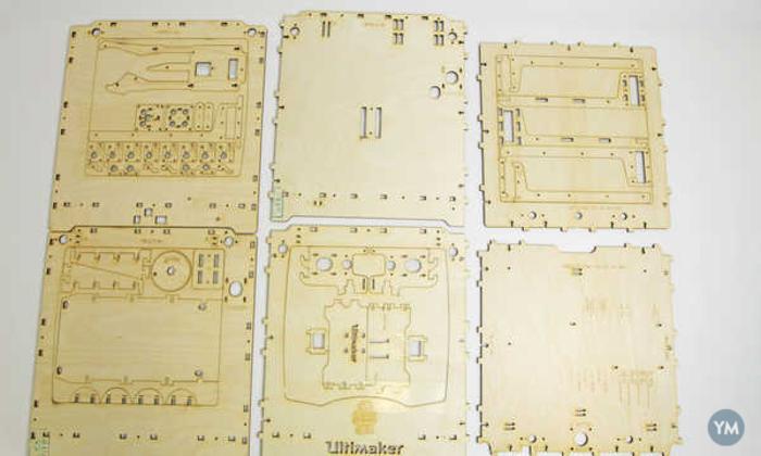 Ultimaker laser cut drawings