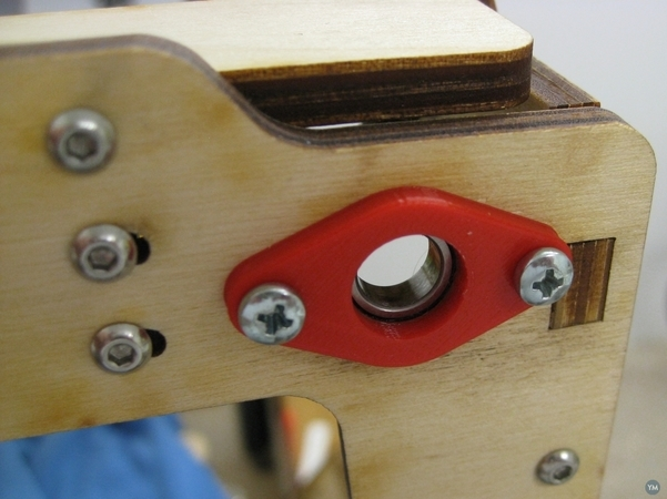 Open Rod end cap for UMO