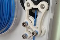 Carousel thumb filament gradener