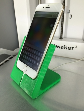 Phone stand with charging cord (iPhone 6)