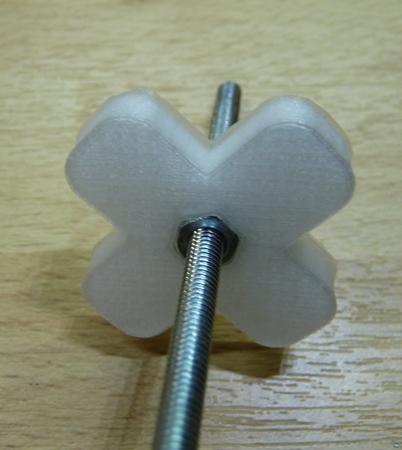 Fingerwheel for M4 Nut