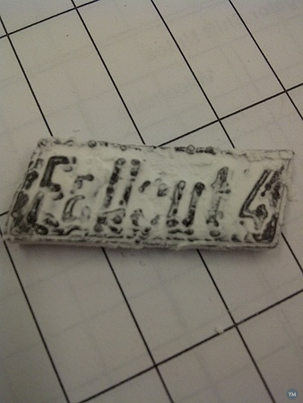 Fallout 4 distressed name plate
