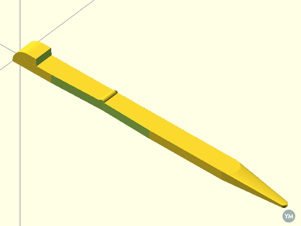 Knife Toothpick