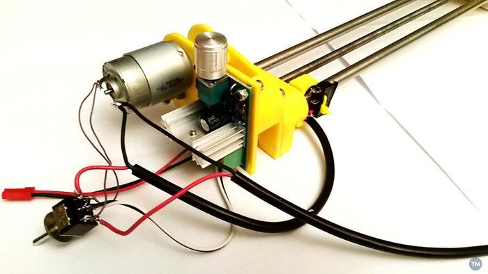 Camera slider - motorised version