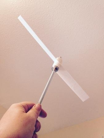 Whirligig propeller