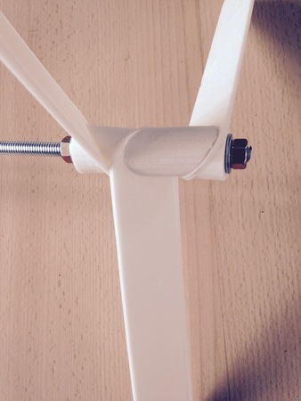 Three blade windmill assembly