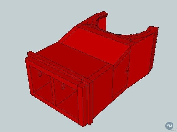 mendel turbofan mount for e3d