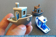 Carousel thumb download  3dbenchy stl files for dual and multi colour 3d printing v00