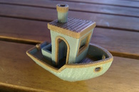 Carousel thumb dualprint version of  3dbenchy made of pla filament       3dbenchy.com
