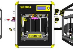 Pandora  3 D Printer Exposed    Bct R02a 007