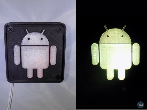 Android Robot LED Nightlight/Lamp