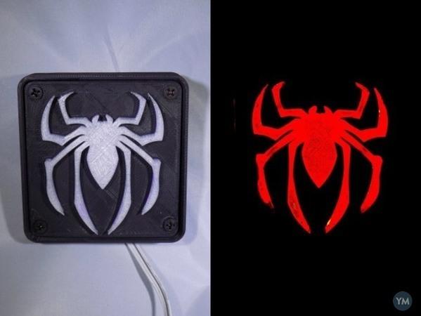 SPIDERMAN LED Light/Nightlight