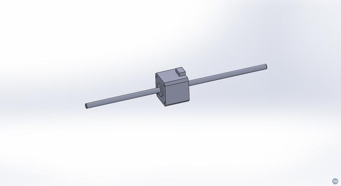 Nema 17 Non Captive Linear Stepper Motor