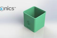 3 Dponics Cube System Square Pot 2