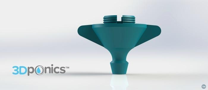 Drip Emitter V3 (Wings) - 3Dponics Emitters & Plugs