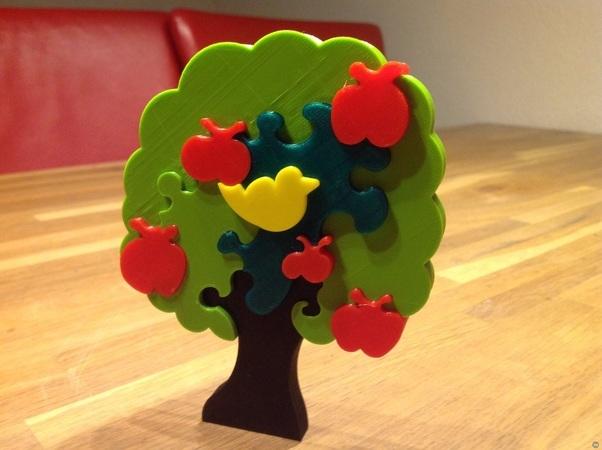 Jigsaw Apple-tree 2.0