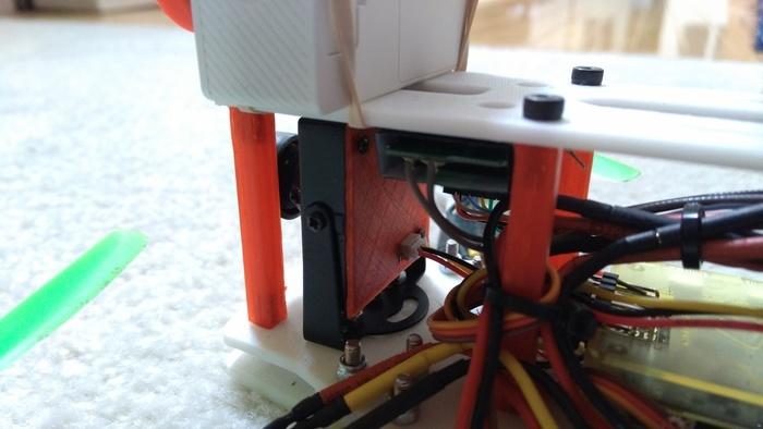 Sony FPV Camera Backing Plate