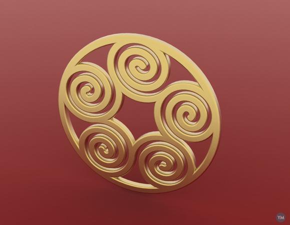 Spiral Pendant 2