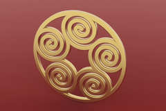 Spiral Pendant2