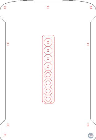 Printrbot LC v1 Bed Leveler