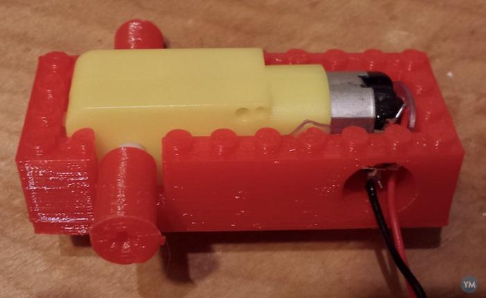 Lego gearmotor casing--revised