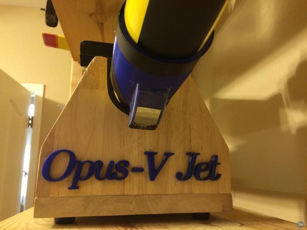 Landing Skids (Kufen) for PAF Opus