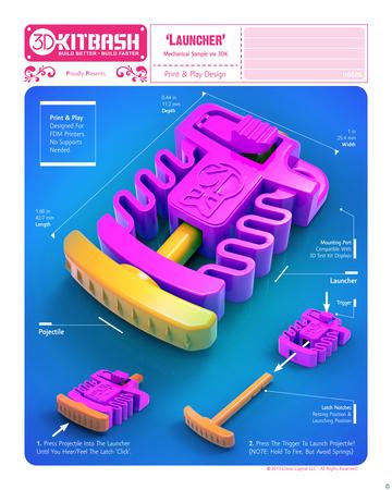 3DK Launcher - 3DKitbash.com - Print & Play