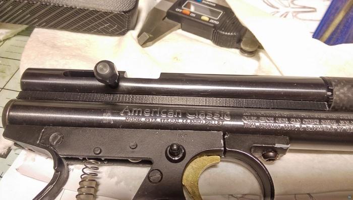 Crosman 1377 Steel Breech Riser