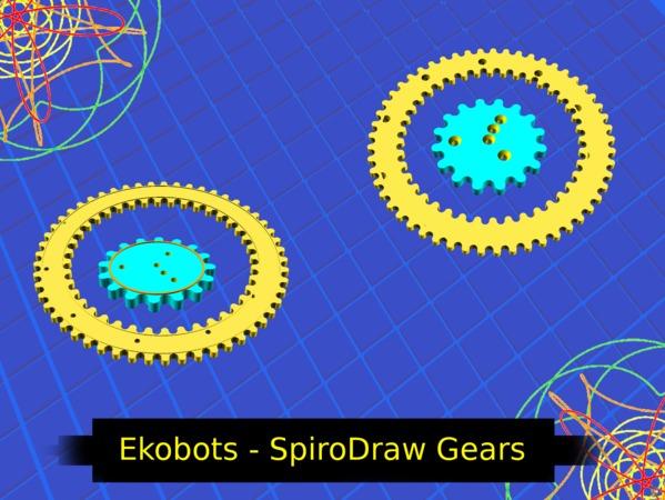 Ekobots - SpiroDraw Gears