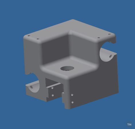 UM2 swappable printhead for E3D direct hotend