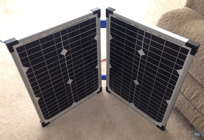 Solar Panel Hinges