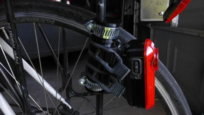 Rack mount for Fly6 rear bike camera
