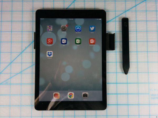 Pencil by 53 iPad Air clip
