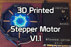 3 D Printed Stepper Motor V1.1