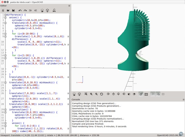 Flexible fingertip for prosthetics - prototype 1