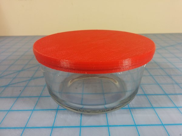 Anchor Hocking Glass Tupperware Replacement Lid